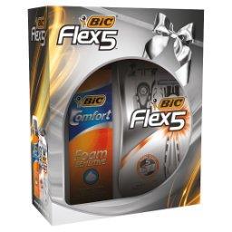 Flex 5 Maszynka do golenia + Pianka do golenia 250 ml