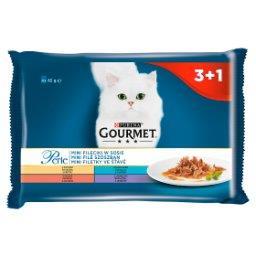 Perle Karma dla kotów kolekcja mini filecików w sosie 340 g