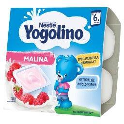 Yogolino Deserek mleczno-owocowy malina po 6 miesiącu 400 g