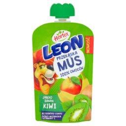 Leon Mus owocowy jabłko banan kiwi 100 g