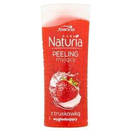 Naturia body Peeling myjący z truskawką