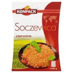 Soczewica czerwona 320 g (4 torebki)