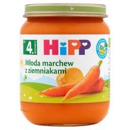 BIO Młoda marchew z ziemniakami po 4. miesiącu