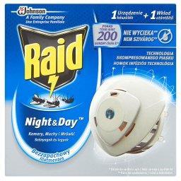 Night & Day Komary muchy i mrówki Elektrofumigator owadobójczy Urządzenie i wkład