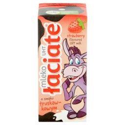 Mleko UHT o smaku truskawkowym