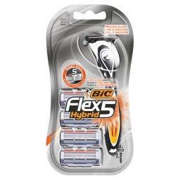 Flex 5 Hybrid 5-ostrzowa maszynka do golenia 4 sztuki
