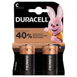 Alkaliczne baterie C, 2 szt. w opakowaniu