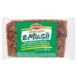 Chleb żytni z musli 300 g