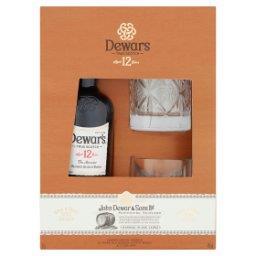 Aged 12 Years Szkocka whisky typu blend  i 2 szklanki