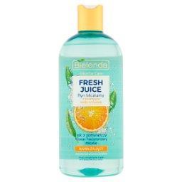 Fresh Juice Płyn micelarny z bioaktywną wodą cytrusową nawilżający