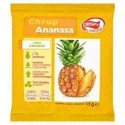 Suszone chipsy z ananasa