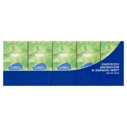 Chusteczki higieniczne 3-warstwowe o zapachu mięty 10 x 10 sztuk