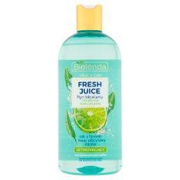 Fresh Juice Płyn micelarny z bioaktywną wodą cytrusową detoksykujący