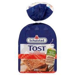 Tost z mąką pełnoziarnistą Chleb tostowy