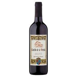Wino czerwone półsłodkie hiszpańskie