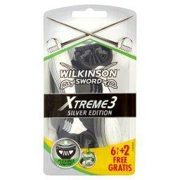 Xtreme3 Silver Edition Jednorazowe maszynki do golen...