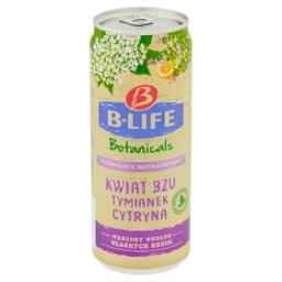 Napój bezalkoholowy kwiat bzu tymianek cytryna