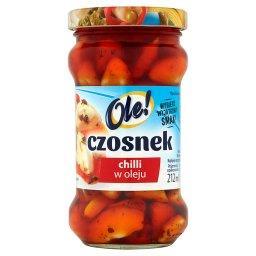 Czosnek chilli w oleju