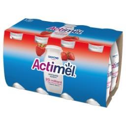 Actimel Mleko fermentowane o smaku truskawkowym 800 g