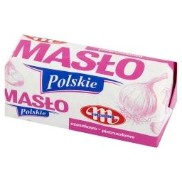 Masło Polskie czosnkowo pietruszkowe