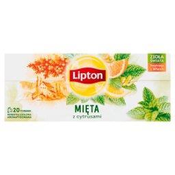 Herbatka ziołowa aromatyzowana mięta z cytrusami  (20 torebek)