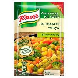 Sos do warzyw na ciepło do mieszanki warzyw ziołowo-maślany
