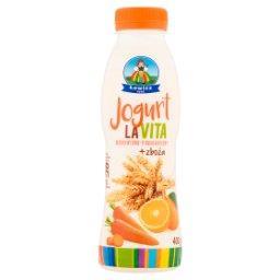 Jogurt LaVita marchwiowo-pomarańczowy + zboża