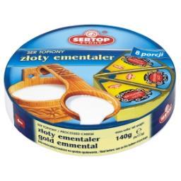 Tychy Ser topiony złoty ementaler  (8 porcji)