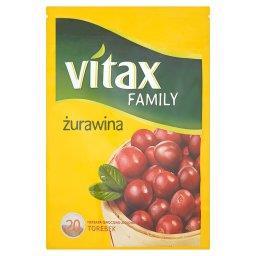 Family żurawina Herbata owocowo-ziołowa  (20 torebek)