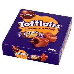 Tofflairs karmelowo-czekoladowy Pomadki mleczne niekrystaliczne