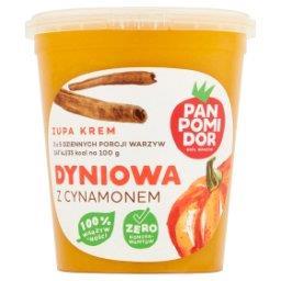 Zupa krem dyniowa z cynamonem