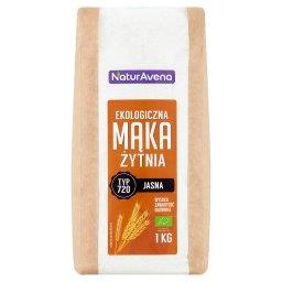 Ekologiczna mąka żytnia jasna typ 720