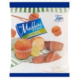 Muffini Mini Ciastka biszkoptowe o smaku cytrynowym