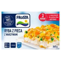 Ryba z pieca z warzywami