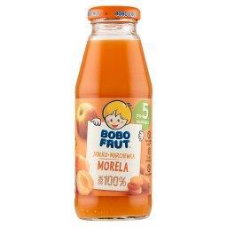 100% sok jabłko marchewka i morela po 5 miesiącu