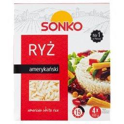 Ryż amerykański 400 g (4 torebki)