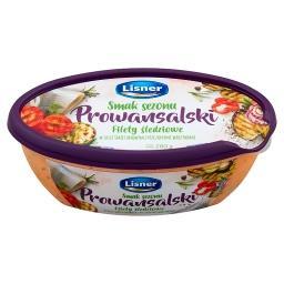 Smak Sezonu Prowansalski Filety śledziowe w sosie śmietanowym z pieczonymi warzywami