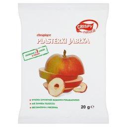 Plasterki jabłka chrupiące 20 g