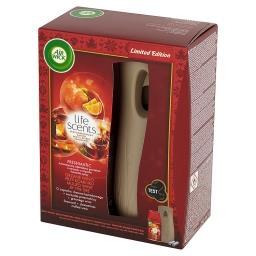 Life Scents Freshmatic Odświeżacz powietrza i wkład grzane wino przy kominku 250 ml