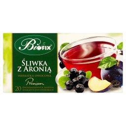 Premium śliwka z aronią Herbatka owocowa 40 g (20 saszetek)