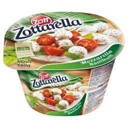Arella Minis Ser mozzarella z bazylią 150 g
