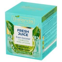Fresh Juice Krem booster z bioaktywną wodą cytrusową detoksykujący
