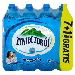 Woda niegazowana 8 x 1,5 l