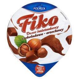 Fiko Deser śmietankowy czekoladowo-orzechowy