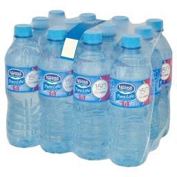Pure Life Niegazowana woda źródlana 12 x 0,5 l