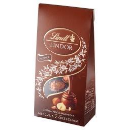 Lindor Pralinki z czekolady mlecznej z orzechami las...