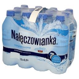 Naturalna woda mineralna niegazowana 12 x 0,5 l