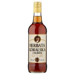 Herbata góralska z rumem Likier
