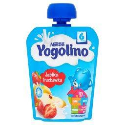 Yogolino Deserek owocowo-mleczny jabłko truskawka po 6 miesiącu