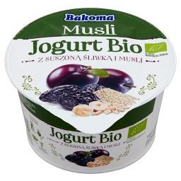 Musli Jogurt Bio z suszoną śliwką i musli